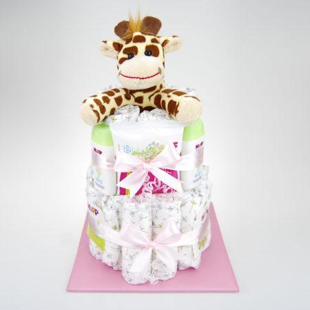Windeltorte Giraffe Maedchen