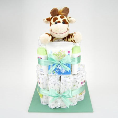 Windeltorte Giraffe Neutral