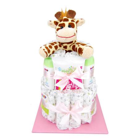 Windeltorte Giraffe Mädchen