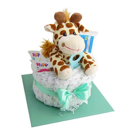 Windeltorte Giraffe Klein